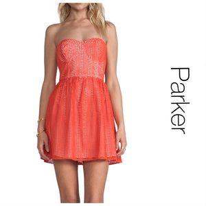Parker Eyelet Bralette Mini Dress S